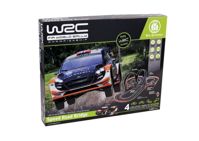 Coches y circuitos de carreras WRC