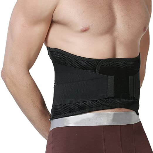 Neotech Care Back Brace - Lumbar Support - Back Support Belt - Wide and Adjustable - XL Size