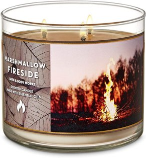 Image result for Bath & Body Works - Marshmallow Fireside Candle