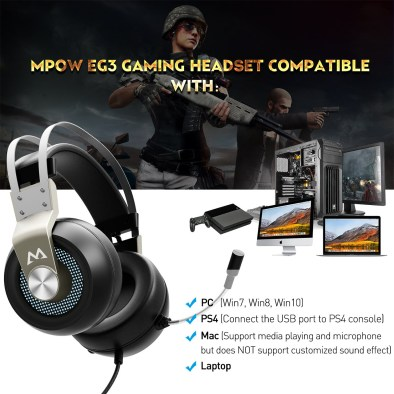 MPOW EG3 Gaming Headset – ReSet | Poc Network // Tech