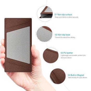 dodocool 携帯 スタンド ホルダー タブレット E-リーダー 折りたたみノンスリップ iPhone iPad mini 4-7.9インチ スマートフォン適用