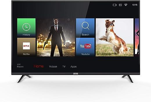 TV LED 4K 108 cm TCL 43DP602 - Téléviseur LCD 43 pouces - TV Connectée : Smart TV - Netflix - Tuner TNT/Câble/Satellite