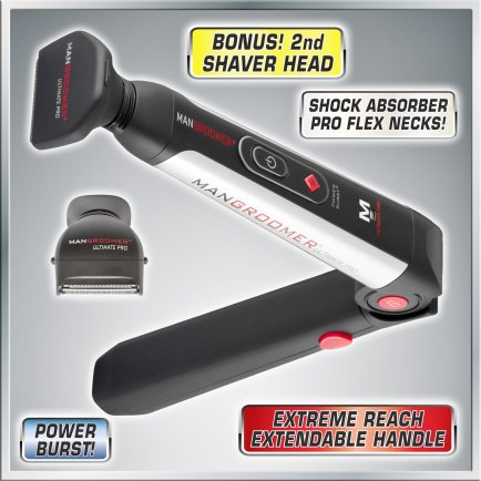 Mangroomer Pro Back Shaver Review