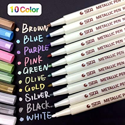 Coloured Markers