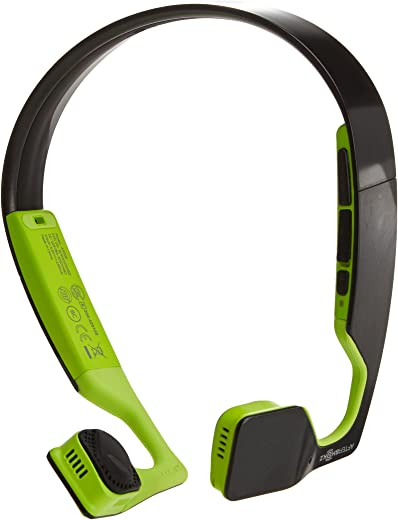 Aftershokz Bluez 2S AS500N-2S Wireless Headphones (Black/Green)