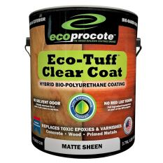 best finish for the redwood picnic table - Eco-Tuff Clearcoat