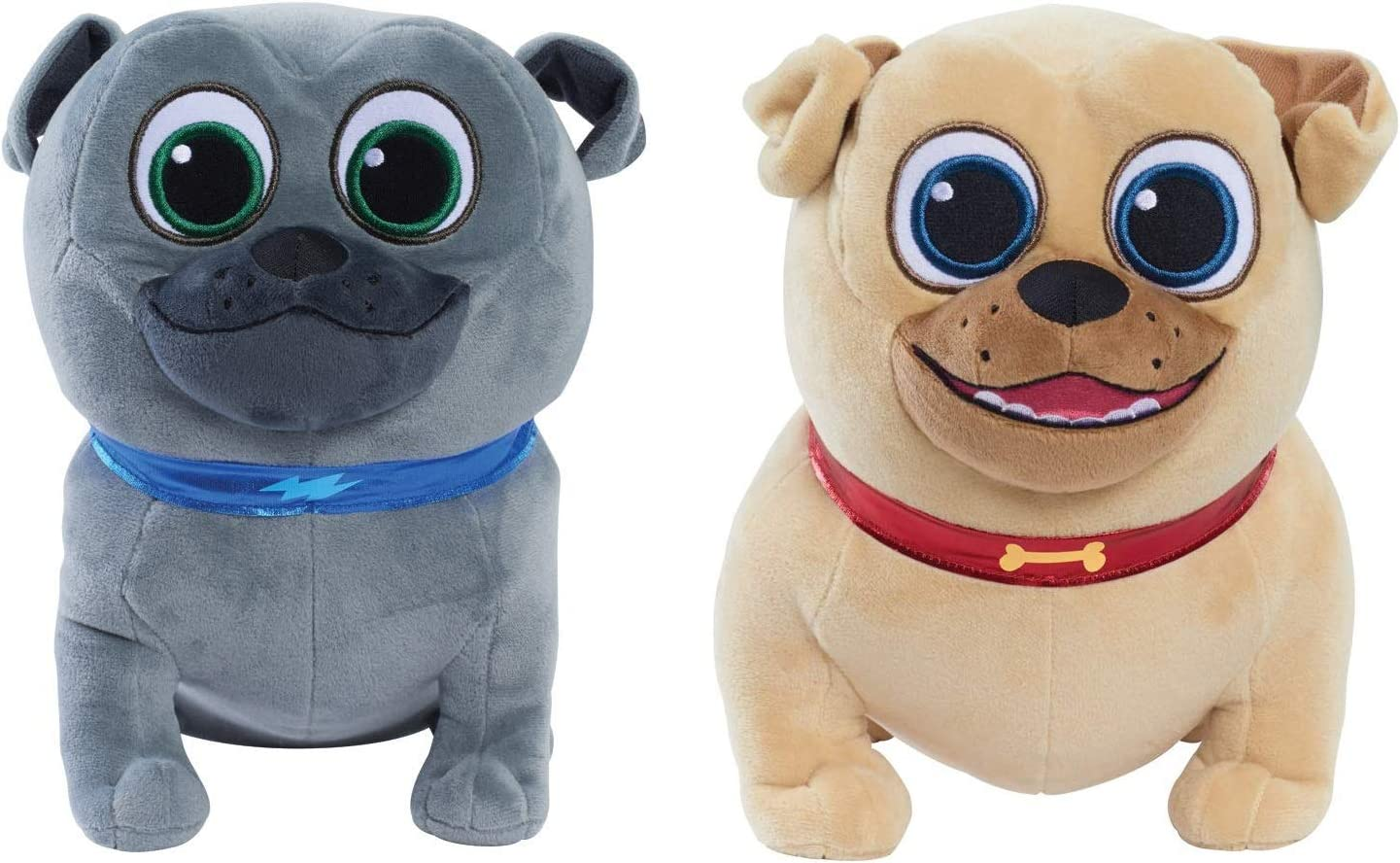 Amazon Com Disney Puppy Dog Pals Plush Gift Set Bingo Rolly Styles May Vary Toys Games