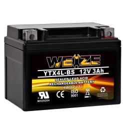 Weize YTX4L BS Motorcycle Battery