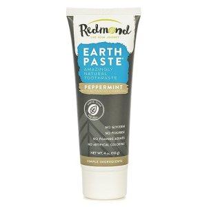 Redmond Earthpaste Peppermint w/ Charcoal