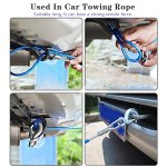 SHAFIRE Car Towing Rope Emergency Tow Pull Rope Snatch Strap for Car