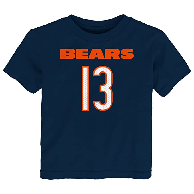 NFL Toddler Kevin White Chicago Bears Mainliner Player Name & Number Short Sleeve Tee, Deep Obsidian, 2 Tall