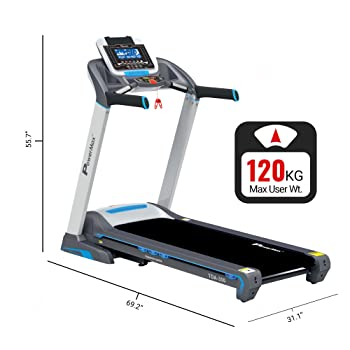 PowerMax Fitness TDA-350 Motorized Treadmill