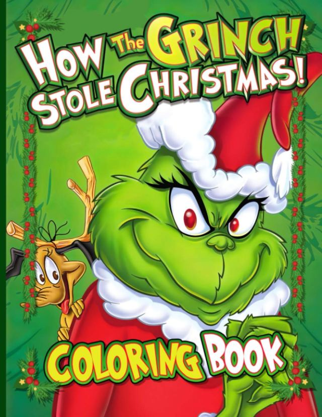 How The Grinch Stole Christmas Coloring Book: Impressive Coloring