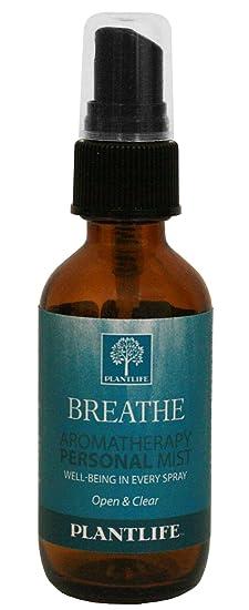 Plantlife Aromatherapy Personal Mist Breathe