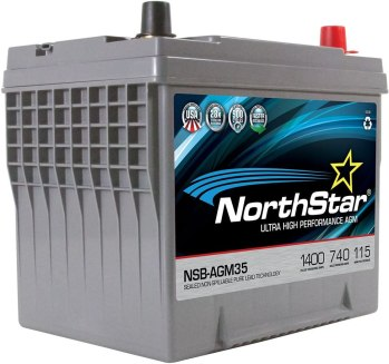 NorthStar Pure Lead Automotive Battery