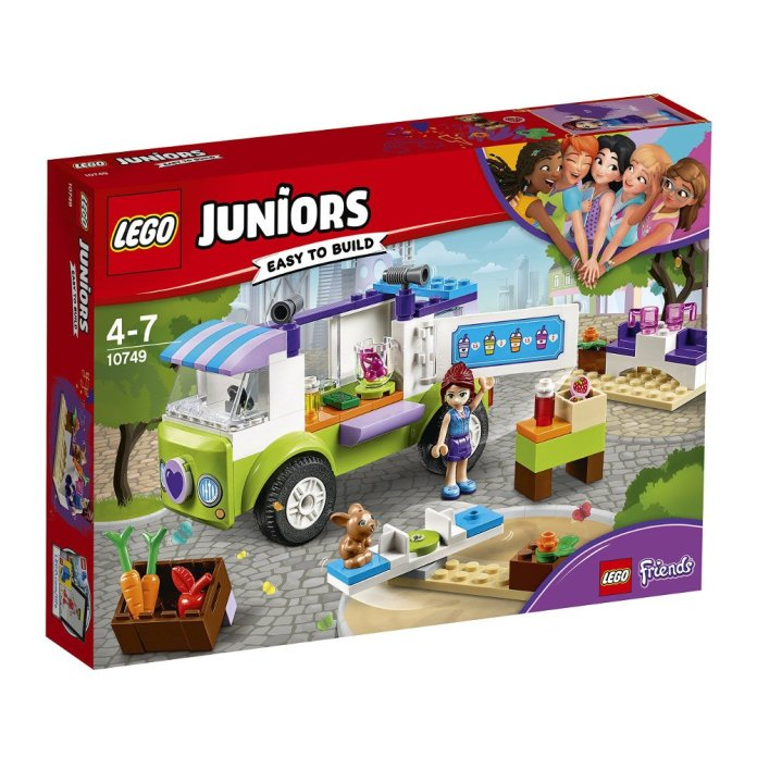 LEGO Juniors Organic Food Market Building Blocks
