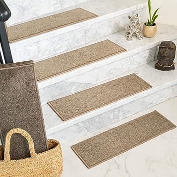 Amazon Com Natural Area Rugs Brown Malvern Diy Pet Friendly | Carpet For Stairs Amazon | Indoor Stair | Anti Slip | Stair Runner Rugs | Self Adhesive | Beige