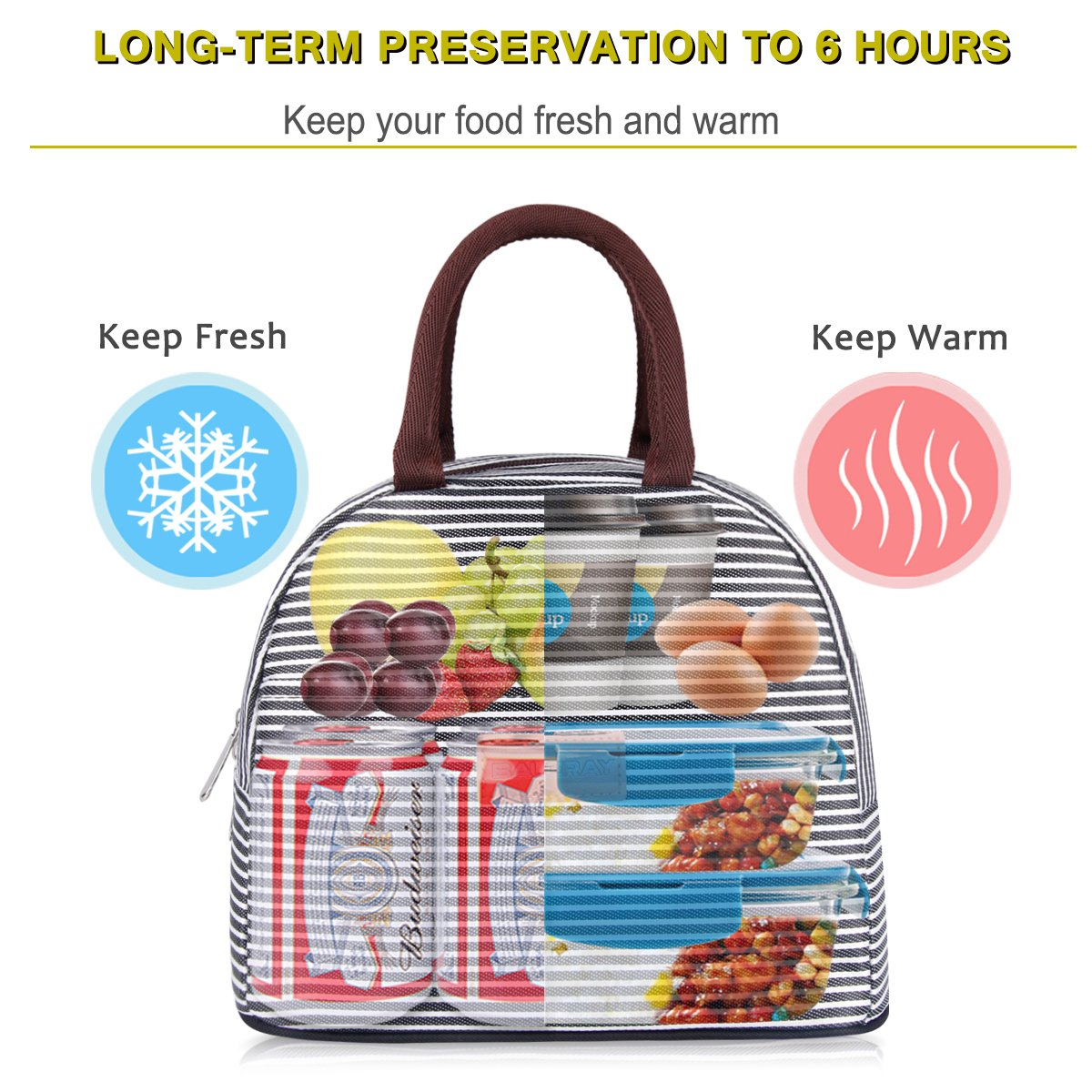 Hand bag for her lunch & water – Give her a better style