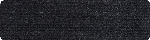 Amazon Com Rugstylesonline Stair Treads Collection Indoor Skid | Black Carpet Stair Treads | Bullnose | Slip Resistant | Interior | Gray | Indoor