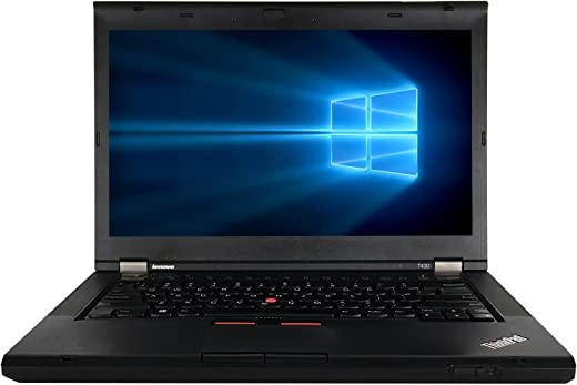 "AST Computer Lenovo T430S 14"" Laptop Intel Core i5-3320M 2.6GHz, 4G DDR3 Ram, 320G, DVD, Windows 10 Pro 64"