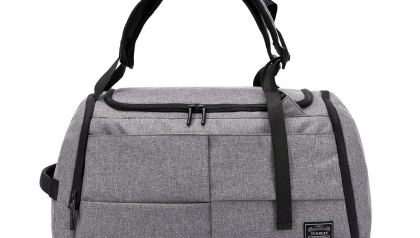 Faleto Canvas Sport Duffel Bag Gym Tote Bag with Shoe Compartment ... d46988e3f25a0
