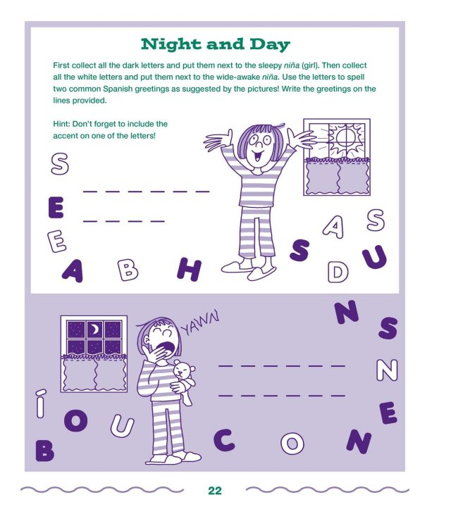 The Everything Kids Learning Spanish Book 28nd Edition: Exercises