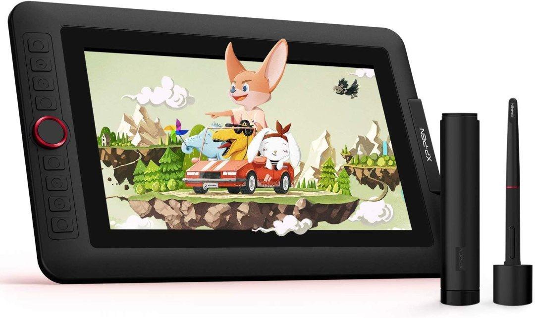 """XP-PEN Artist 12 Pro Tablette Graphique avec Ecran HD IPS 11.6"""" Stylet à 8192 Niveaux avec Inclinaison et 8 Touches de Raccourcis - Compatible avec Mac, Windows, Chromebook"""
