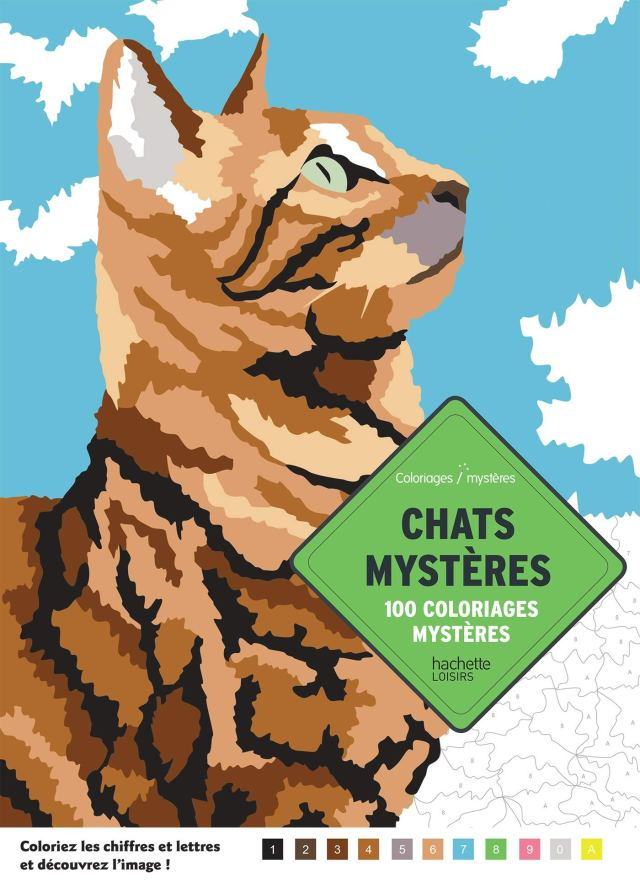 Chats mysteres -30 coloriages: Collectif,: 30: Books