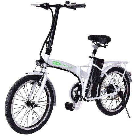 """Goplus 20"""" 250W Folding Electric Bike review"""