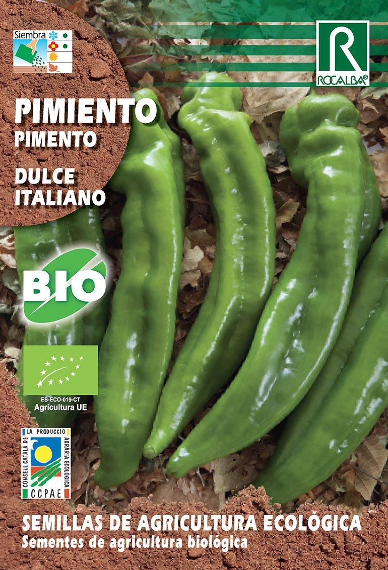 Semillas ECOLÓGICAS Pimiento Dulce Italiano