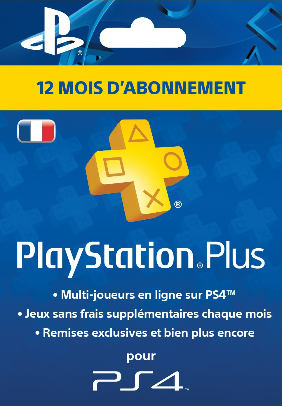 Amazon.fr - PS+ Carte d'Abonnement 12 Mois