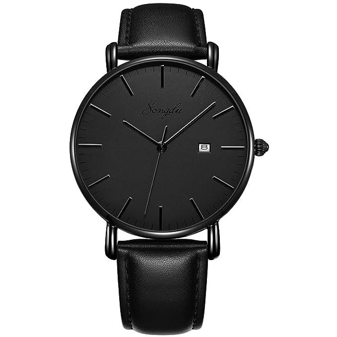 Relojes negro para hombre de kuarzohttps://amzn.to/2ryTXH4