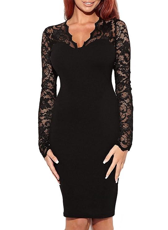 Vestido elegante para dama color negrohttps://amzn.to/2PzU7r8