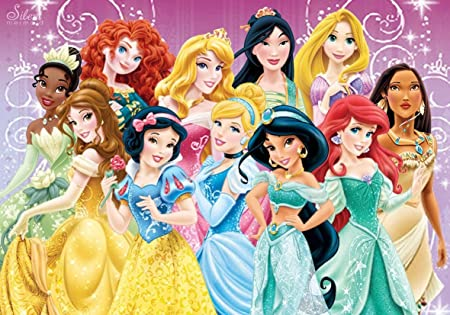 Perfect A4 Walt Disney Princesses Poster Print Dispatched Within 24 Hours 1st Class Amazon Co Uk Kitchen Home