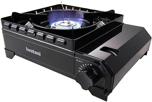 Amazon.co.jp: 岩谷産業 カセットフー アウトドアコンロ タフまる CB-ODX-1 ブラック: 産業・研究開発用品