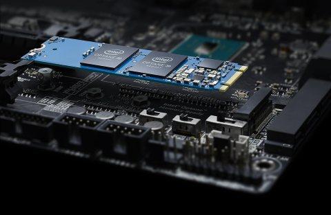 intel MEMPEK1W032GAXT Intel Optane Memory 32GB M.2接続