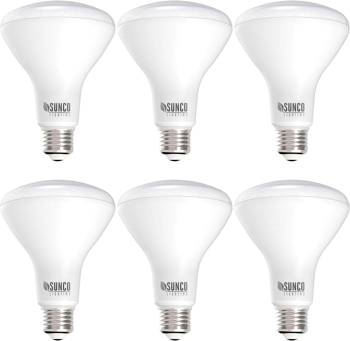 Sunco Lighting 6 Pack BR30 LED Bulb