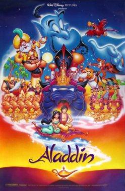 Disney's ALADDIN - 18X27 Original Promo Movie Poster - Rare 1992 Robin Williams at Amazon's Entertainment Collectibles Store
