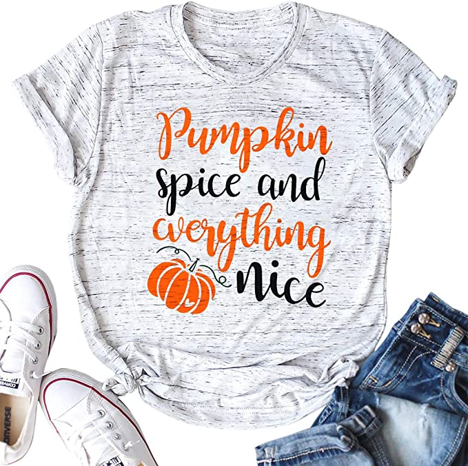 Pumpkin Spice and Everything Nice Shirt - Useful Things to Buy on Amazon