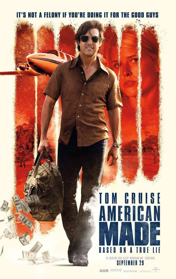 Amazon.com : AMERICAN MADE MOVIE POSTER 2 Sided ORIGINAL 27x40 TOM CRUISE  JAYMA MAYS : Everything Else