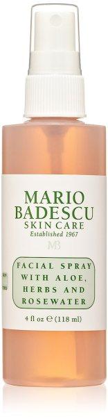 Mario Badescu Facial Spray with Rosewater and Aloe Herbs   setting spray