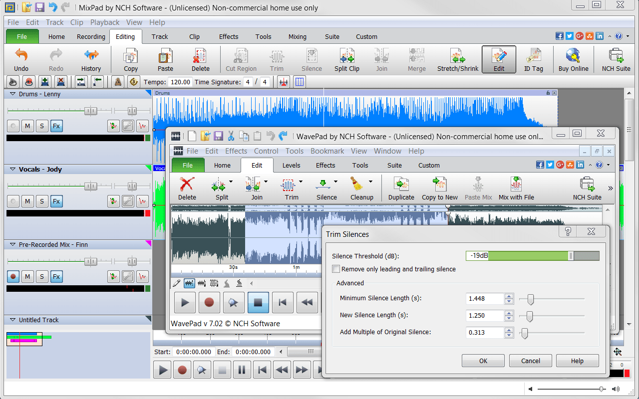 online songs recording software free download