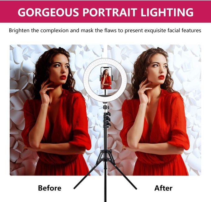 Best Ring Light for Zoom Meetings