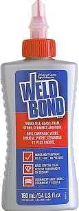 best glue for paper to fabric - Weldbond