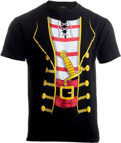 Halloween tshirt costume - pirate