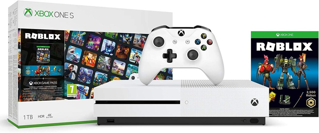 Pack Xbox One S - Roblox - Exclusivité Amazon