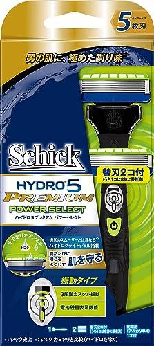 シック Schick 5枚刃 ハイドロ5 プレミアム パワーセレクト