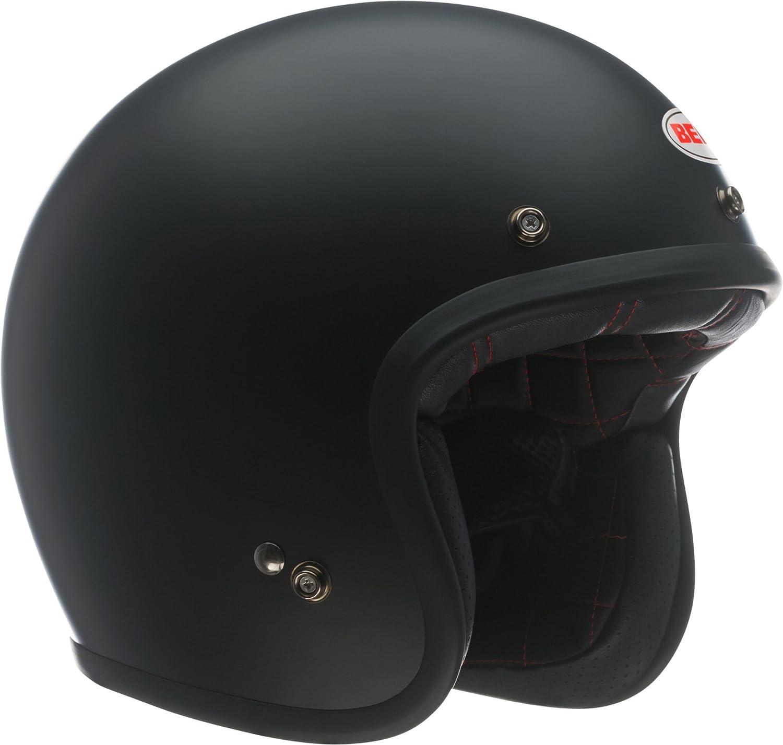 Bell Custom 500 Open-Face Motorcycle Helmet (Solid Matte Black, X-Large)