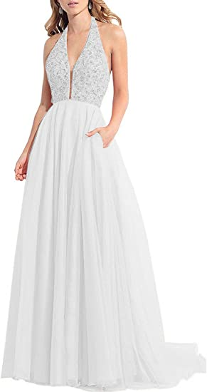 Onlinedress Women S 3 4 Sleeve Tea Length Lace Wedding Dress Bridal Gowns Amazon Ca Clothing Accessories