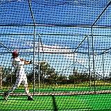 Baseball Batting Cages 42 Heavy Duty Net [Net World] 24hr Ship (H: 10' x W: 10' x L: 45')